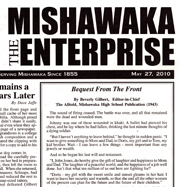 Mishawaka Enterprise essay (read it)