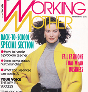 Working Mother Magazine articles